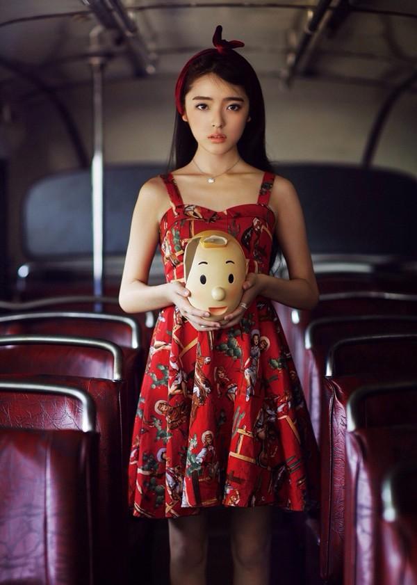 """Cộng đồng mạng Trung Quốc ngẩn ngơ trước nhan sắc của """"nữ sinh thiên thần"""" - Ảnh 7"""