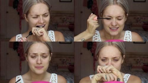 Nữ vlogger bị liệt hai bàn tay vẫn trang điểm thoăn thoắt - Ảnh 6