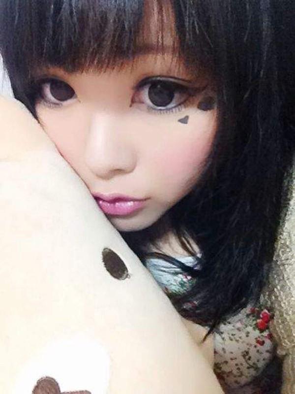 """Choáng với nhan sắc trước và sau khi """"biến hình"""" nhờ make up của cô gái Nhật - Ảnh 5"""