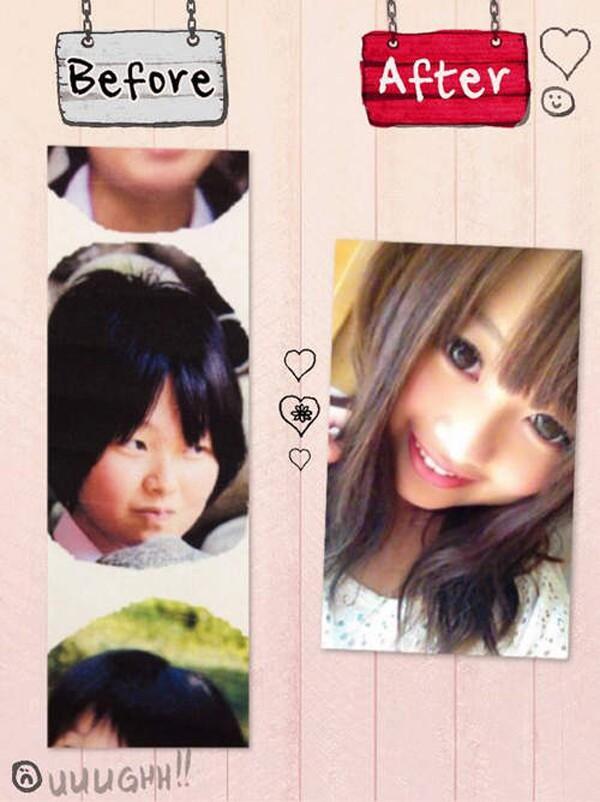 """Choáng với nhan sắc trước và sau khi """"biến hình"""" nhờ make up của cô gái Nhật - Ảnh 6"""