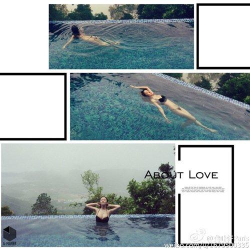 """Cô gái 9x gây """"bão mạng"""" chỉ với 1 bức ảnh chụp ở bể bơi - Ảnh 1"""