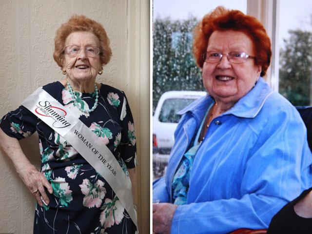 Cụ bà 92 tuổi giảm 50kg nhờ tập thể dục và bơi - Ảnh 1