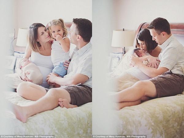 Xúc động chùm ảnh cha mẹ dành giây phút quý giá bên con gái bị ung thư - Ảnh 7