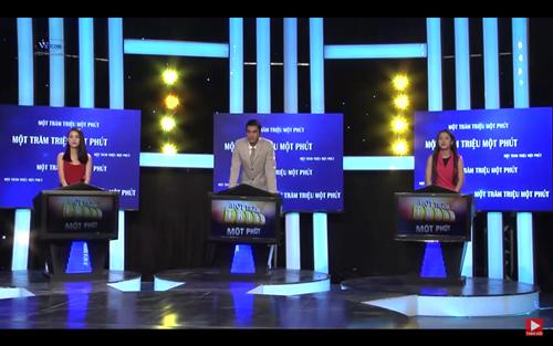 Trai tài gái sắc hội tụ trong chương trình 100 triệu 1 phút - Ảnh 2