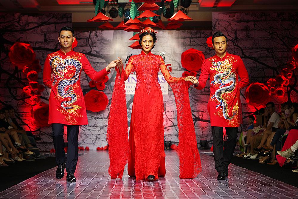 Lê Thị Phương trở lại sàn diễn thời trang sau đám cưới - Ảnh 3
