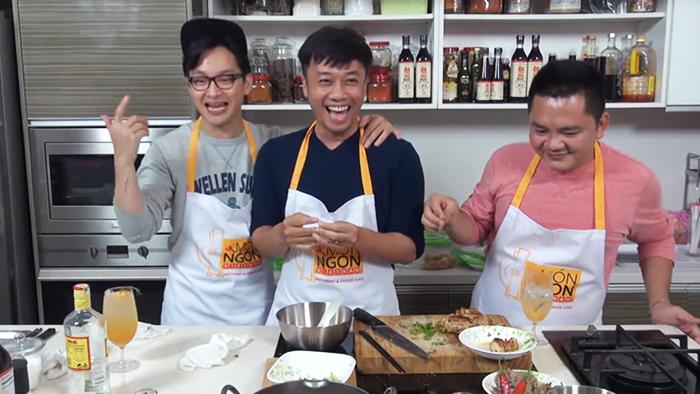 Lần đầu tiên tại Việt Nam xuất hiện show ẩm thực được live stream định kỳ - Ảnh 1