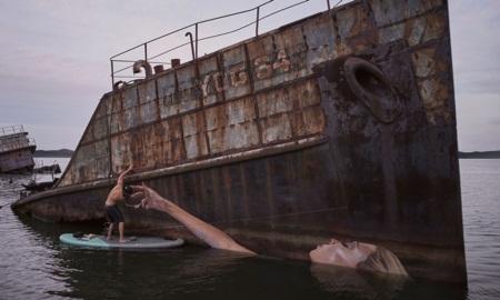 """Chiêm ngưỡng tác phẩm nghệ thuật trên """"mặt nước"""" của nghệ sĩ trẻ - Ảnh 3"""
