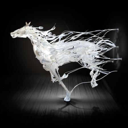 Ngắm bộ sưu tập loài vật 3D được sáng chế từ... nhựa tái chế - Ảnh 2