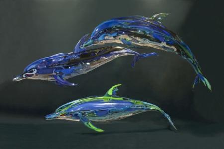Ngắm bộ sưu tập loài vật 3D được sáng chế từ... nhựa tái chế - Ảnh 4