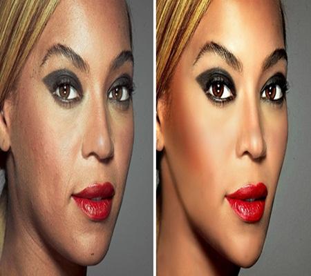 Bất ngờ loạt ảnh những người nổi tiếng trước và sau khi photoshop - Ảnh 7