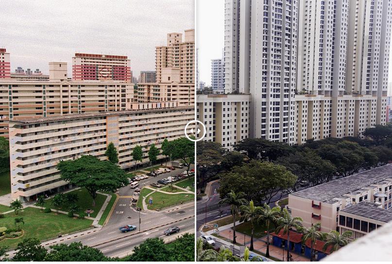 Chùm ảnh: Singapore thay đổi chóng mặt dưới thời Lý Quang Diệu - Ảnh 4