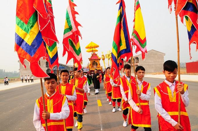 Nhộn nhịp lễ khai hội Tây Thiên 2015 - Ảnh 5