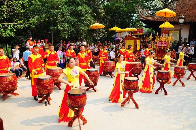 Nhộn nhịp lễ khai hội Tây Thiên 2015 - Ảnh 1