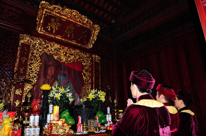 Nhộn nhịp lễ khai hội Tây Thiên 2015 - Ảnh 12