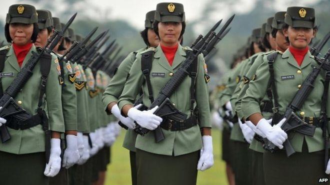 Indonesia: Nữ ứng viên được kiểm tra trinh tiết bằng... hai ngón tay - Ảnh 1