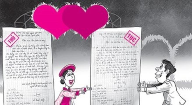 Quy định làm đơn xin được tổ chức đám cưới là trái pháp luật - Ảnh 1