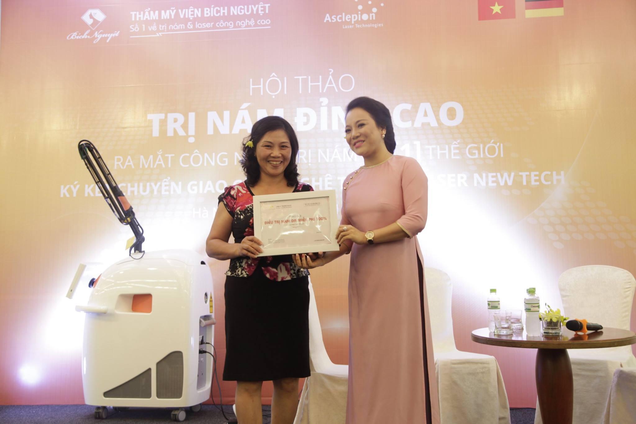 Áp dụng công nghệ trị nám số 1 thế giới tại Việt Nam - Ảnh 1