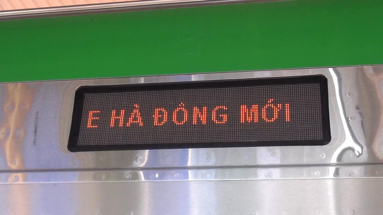 Chùm ảnh: Người dân trải nghiệm mẫu tàu đường sắt trên cao Cát Linh - Hà Đông - Ảnh 10