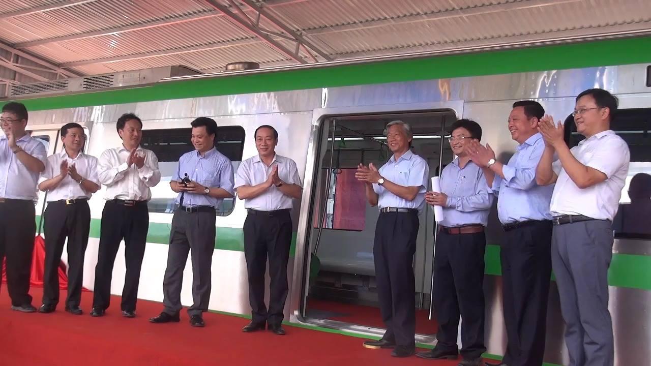 Chùm ảnh: Người dân trải nghiệm mẫu tàu đường sắt trên cao Cát Linh - Hà Đông - Ảnh 2