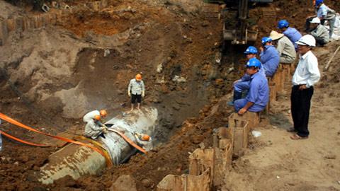 Khởi công đường ống nước số 2: Cam kết Thủ đô sẽ không thiếu nước sạch - Ảnh 2