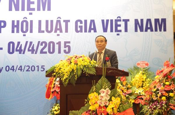 Nhìn lại chặng đường 60 năm xây dựng và phát triển Hội luật gia Việt Nam - Ảnh 1