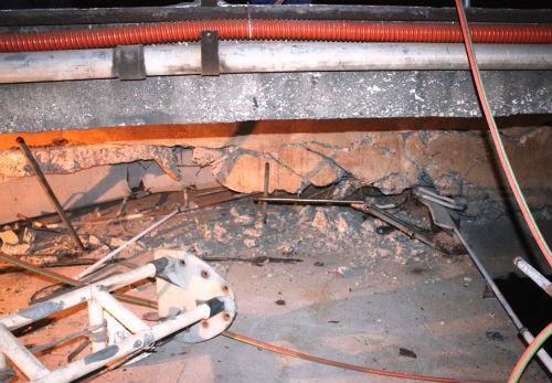 Cầu An Thái bị đâm vỡ dầm: Cảnh báo nguy cơ sập cầu - Ảnh 3
