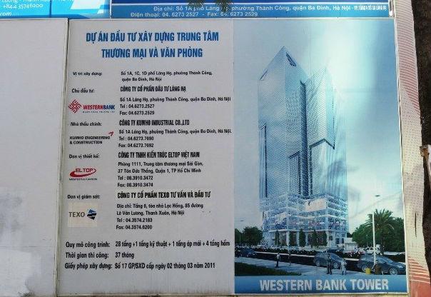 """Dự án 34 tầng thành lán mái tôn: """"Do sáp nhập ngân hàng"""" - Ảnh 1"""