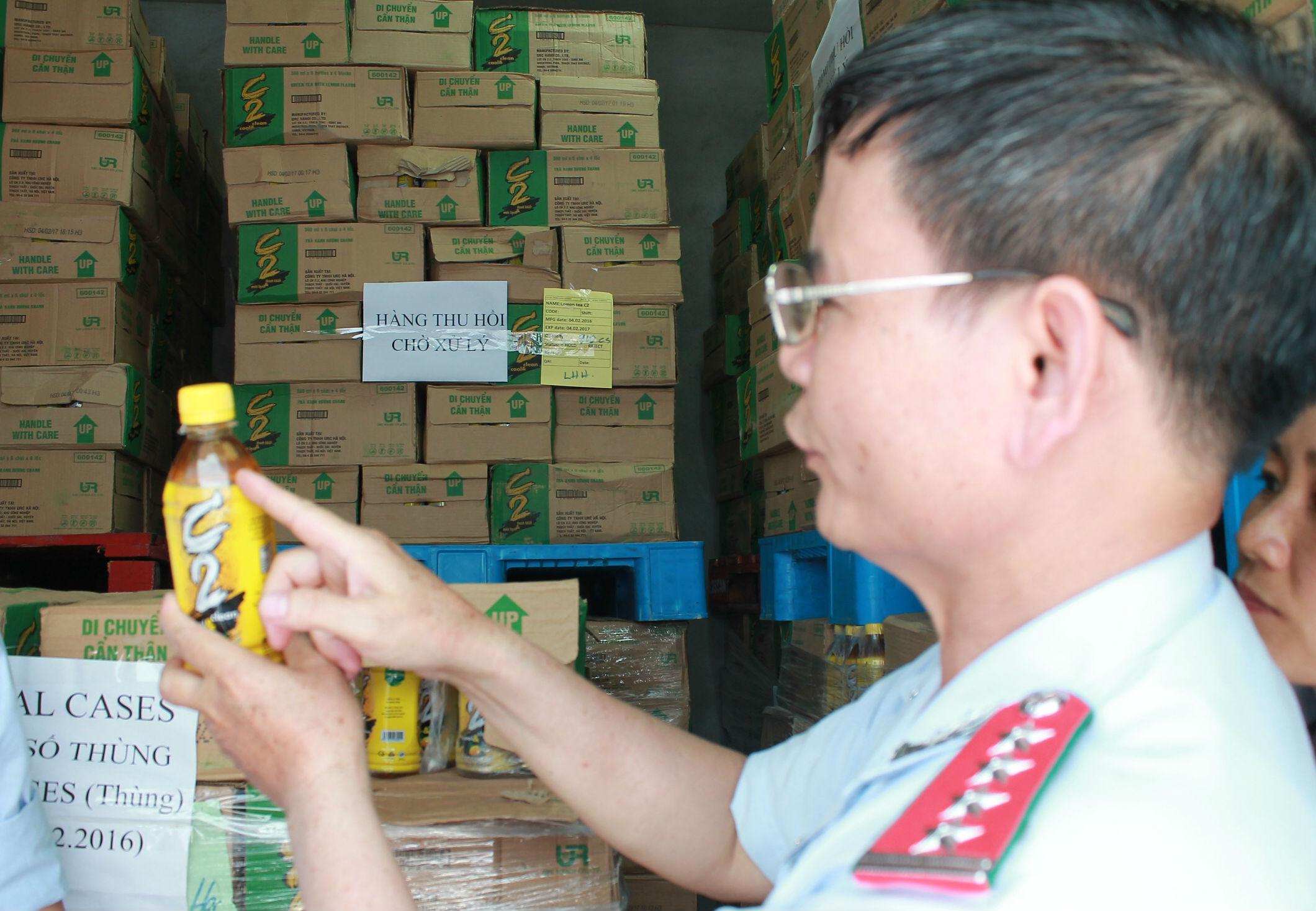 Trưởng đoàn thanh tra vụ C2: URC đã nghiêm túc xử lý, thu hồi sản phẩm - Ảnh 2