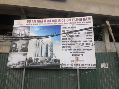 Công an vào cuộc việc mua bán nhà ở xã hội Rice City - Ảnh 1
