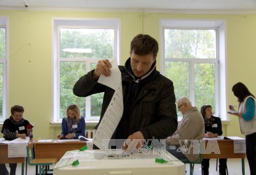 Bầu Duma Nga: Chính đảng ông Putin ủng hộ đang dẫn đầu - Ảnh 1