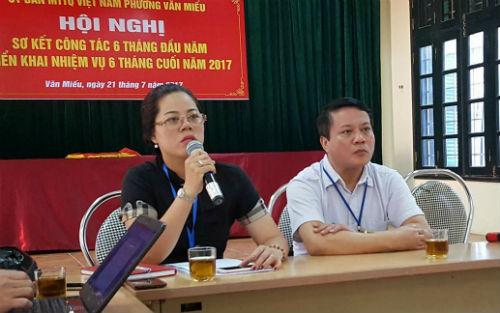 """Thanh tra vào cuộc vụ dân tố phường Văn Miếu """"hành"""" cấp giấy khai tử - Ảnh 1"""