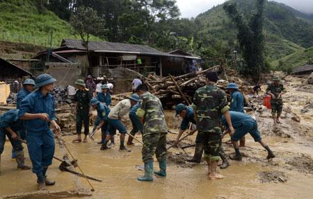 34 người chết, mất tích do mưa lũ ở các tỉnh miền núi phía Bắc - Ảnh 1