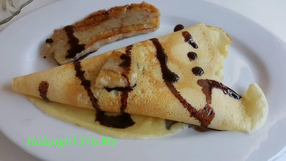 Cách làm bánh crepe nhân chuối thơm ngon khó cưỡng - Ảnh 1
