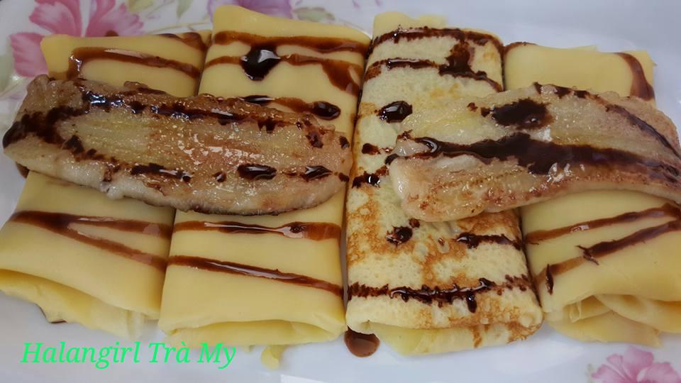Cách làm bánh crepe nhân chuối thơm ngon khó cưỡng - Ảnh 5