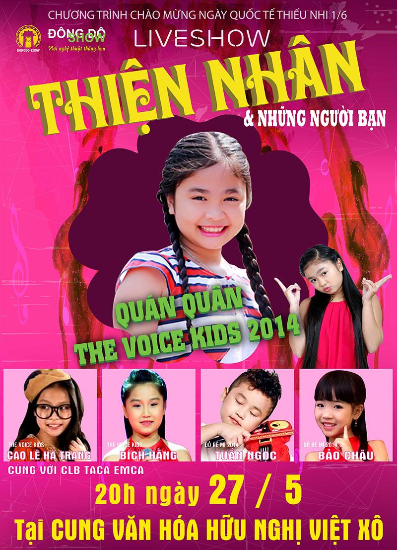 Quán quân The Voice Kids Thiện Nhân lần đầu ra Hà Nội làm liveshow - Ảnh 1