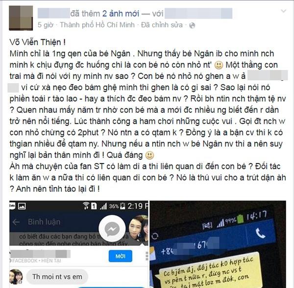 """""""Bản sao"""" Sơn Tùng M-TP phũ phàng chửi bạn gái sau khi nổi tiếng? - Ảnh 1"""