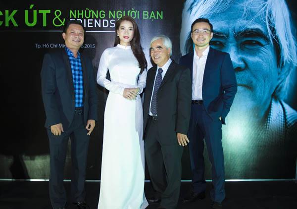 """Trương Ngọc Ánh gặp gỡ Nick Út - tác giả bức ảnh """"Em bé Napalm"""" - Ảnh 1"""