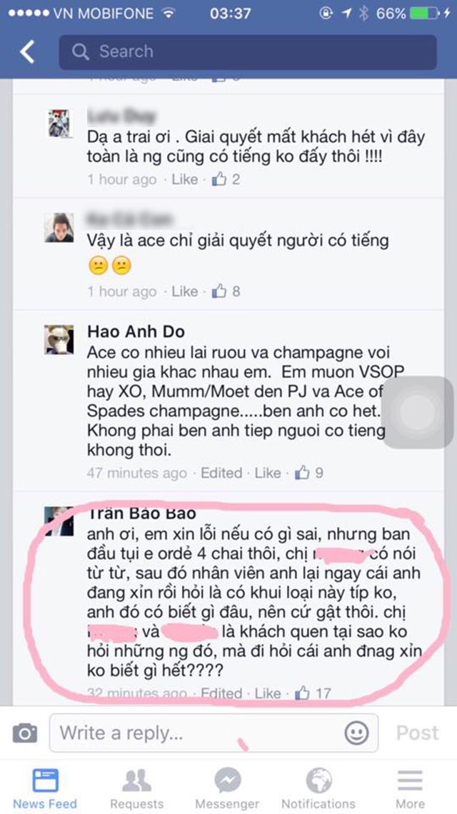 """DJ Mike Hào bức xúc khi BB Trần và bạn bè """"than trời"""" vì hóa đơn 88 triệu - Ảnh 3"""
