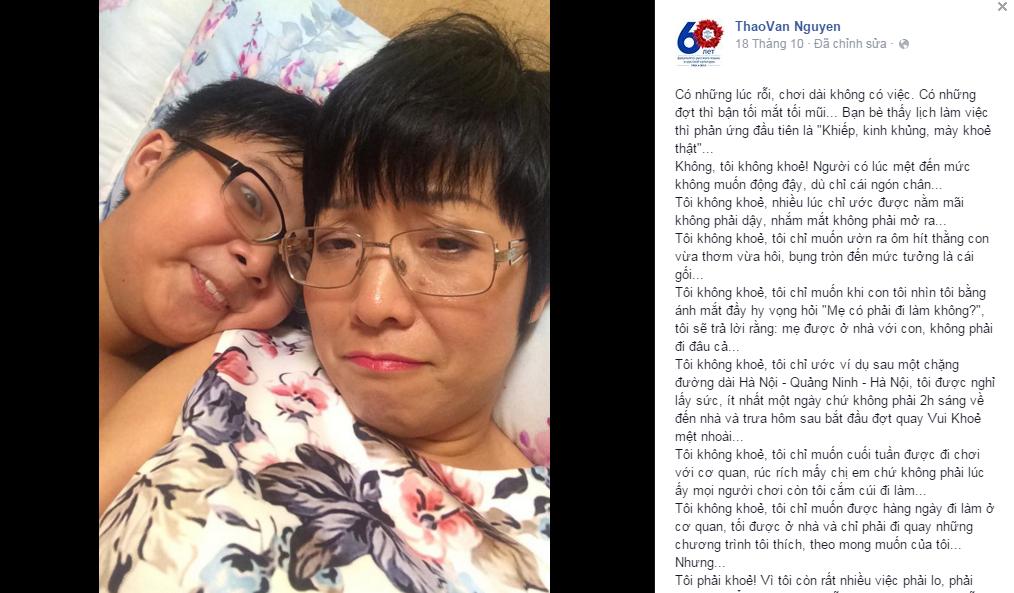 MC Thảo Vân chạnh lòng vì vẫn ở nhà thuê - Ảnh 2