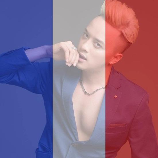 Sao Việt thay avatar cờ Pháp cầu nguyện cho Paris - Ảnh 12