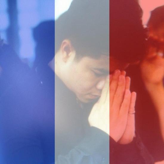 Sao Việt thay avatar cờ Pháp cầu nguyện cho Paris - Ảnh 7