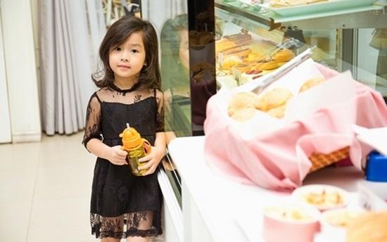 """Vẻ đẹp """"thiên thần"""" của con gái Lưu Hương Giang - Hồ Hoài Anh - Ảnh 2"""