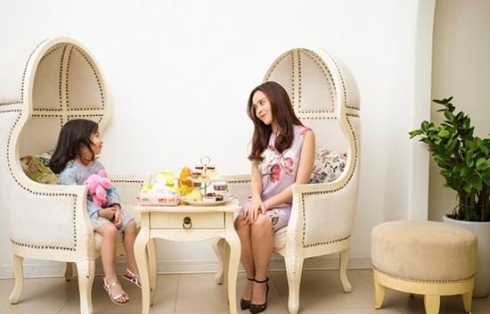 """Vẻ đẹp """"thiên thần"""" của con gái Lưu Hương Giang - Hồ Hoài Anh - Ảnh 5"""