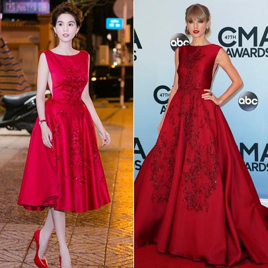 Ngọc Trinh gây sốt khi phát ngôn váy nhái của mình đẹp hơn váy hiệu Taylor Swift - Ảnh 7