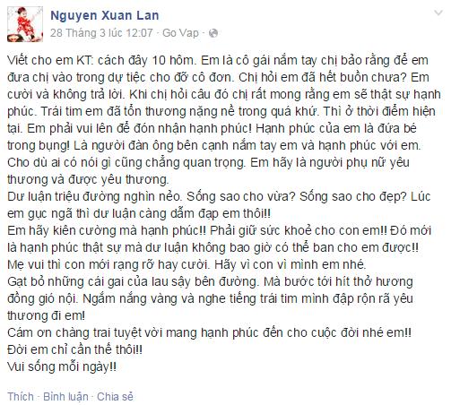 Hàng loạt người đẹp Việt lên tiếng chúc phúc Khánh Thi - Phan Hiển - Ảnh 1