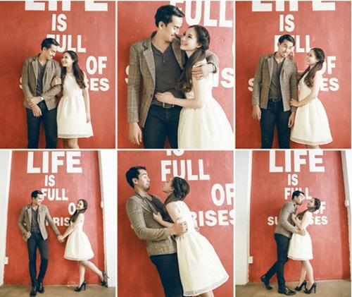 Bộ ảnh cưới đẹp lung linh chưa từng công bố của Duy Nhân - Ảnh 11