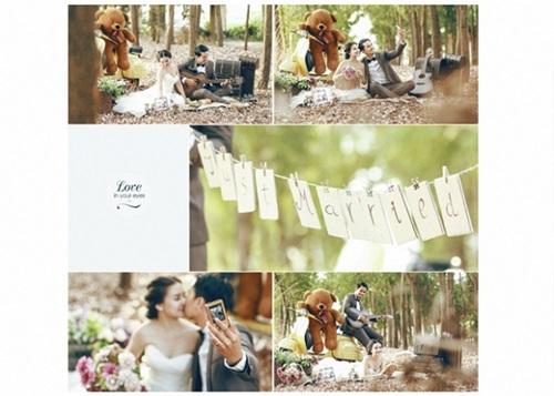 Bộ ảnh cưới đẹp lung linh chưa từng công bố của Duy Nhân - Ảnh 17