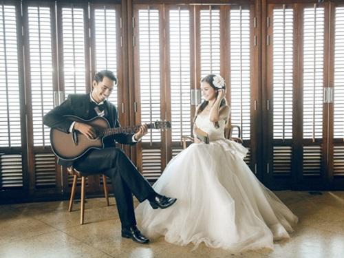 Bộ ảnh cưới đẹp lung linh chưa từng công bố của Duy Nhân - Ảnh 4