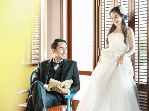 Bộ ảnh cưới đẹp lung linh chưa từng công bố của Duy Nhân - Ảnh 8
