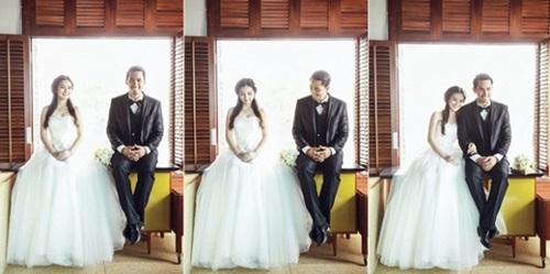 Bộ ảnh cưới đẹp lung linh chưa từng công bố của Duy Nhân - Ảnh 7
